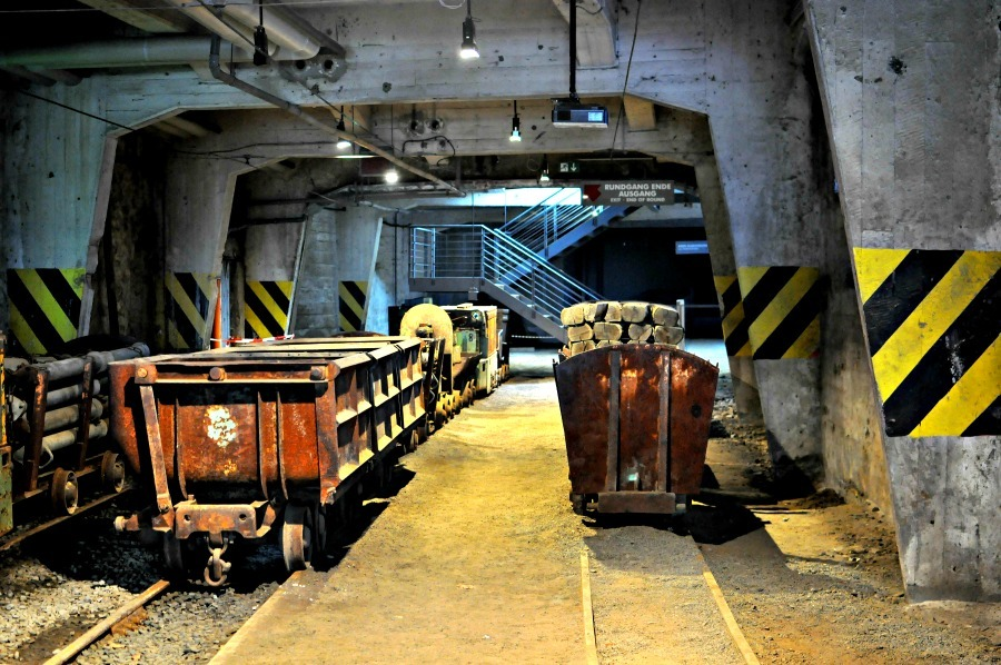 Visiting the Rammelsberg mines (UNESCO World Cultural Heritage Site since 1992), a once-in-a-lifetime experience in Lower Saxony, Germany