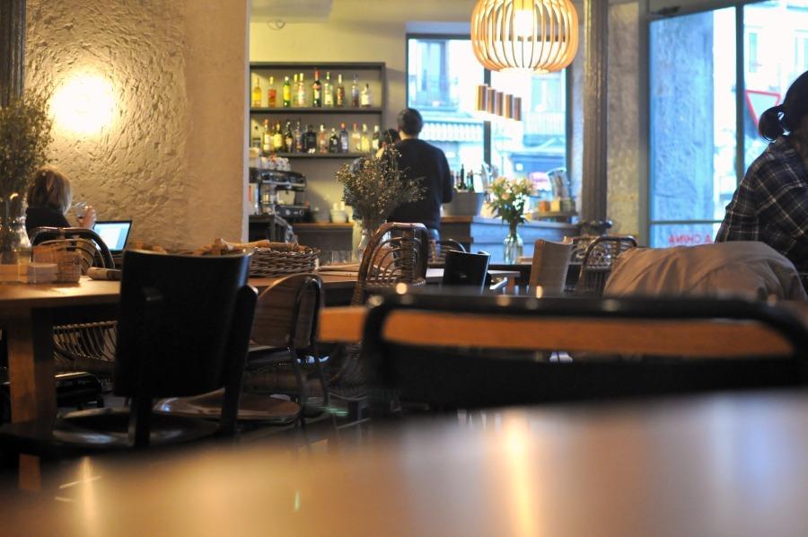 Cafe Workspace in Madrid: La China Mandarina || Wanderwings