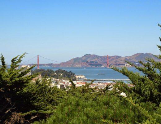 Golden Gate Bridge from Jack Early Park (San Francisco) | California