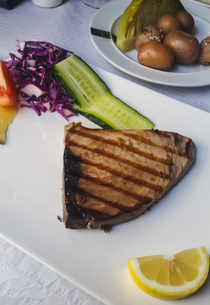 Grilled Tuna Steak | Madeira Food and Drinks to Try (Portugal) | Wanderwings