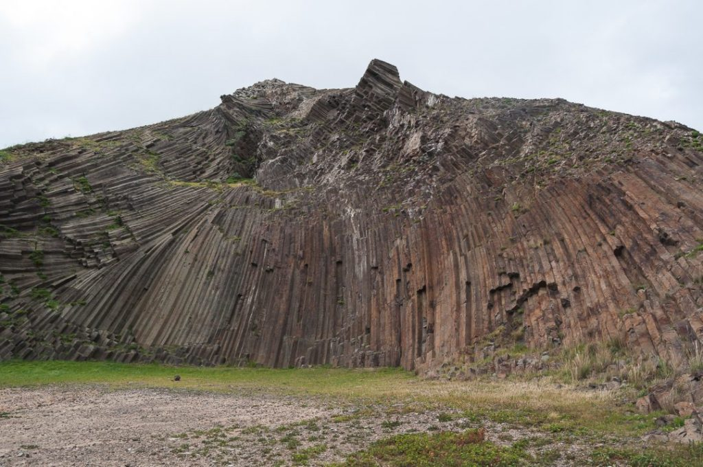 Historical mountain formation
